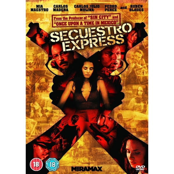 Secuestro Express DVD