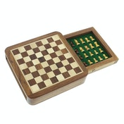 Emporium Collection Magnetic Chess Board with Drawer