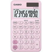 Casio SL310UC-PK My Style 10 Digit Handheld Calculator Pink