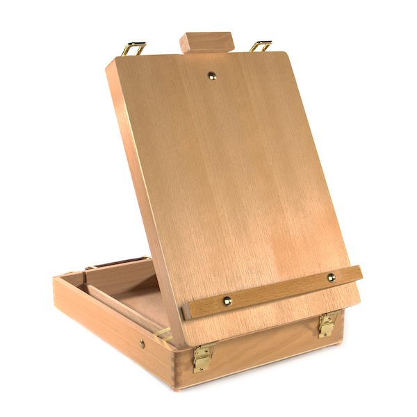 Wooden Table Box Easel | M&W