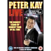 Peter Kay Live The Tour That Didnt Tour Tour DVD