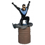 Ex-Display DC Gallery Batman The Animated Series New Adventure Nightwing PVC Figure Used - Like New
