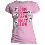 One Direction Names Skinny Pink TS: XL