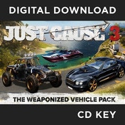 Weaponised Vehicle Pack (for Just Cause 3) PC CD Key Download for Steam