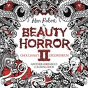 The Beauty Of Horror II Goregeous Coloring Book: Volume 2