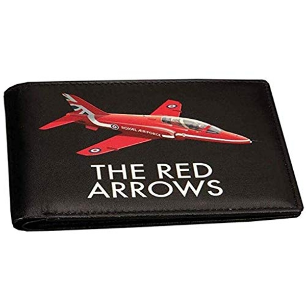 Military Heritage Leather Wallet - Red Arrows