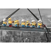 Despicable Me (minions Lunch On A Skyscraper) Maxi Poster