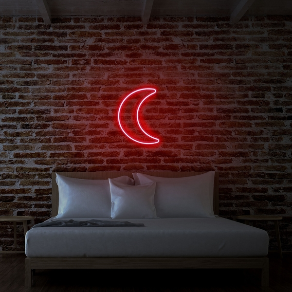Crescent - Red Red Wall Lamp