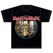 Iron Maiden Eddie Evolution Mens T Shirt: XXL