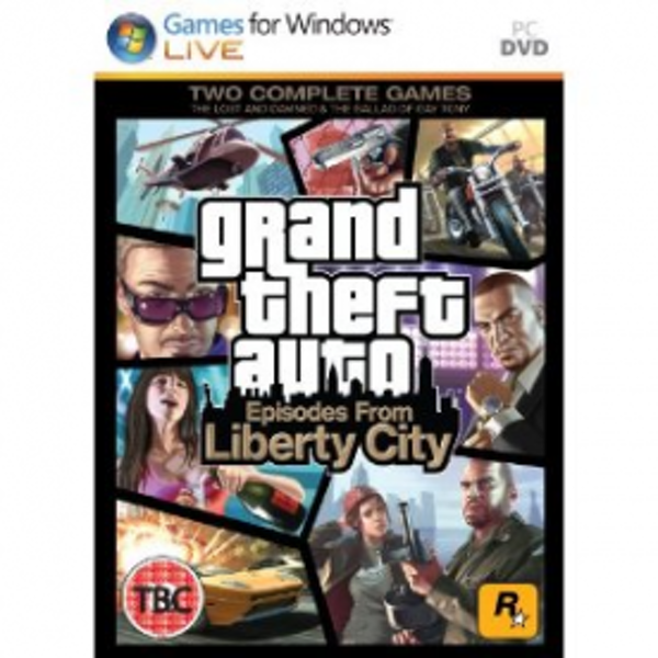 Grand Theft Auto GTA Episodes from Liberty City Game PC