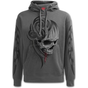 Death Roar Men's Medium Hoodie - Grey