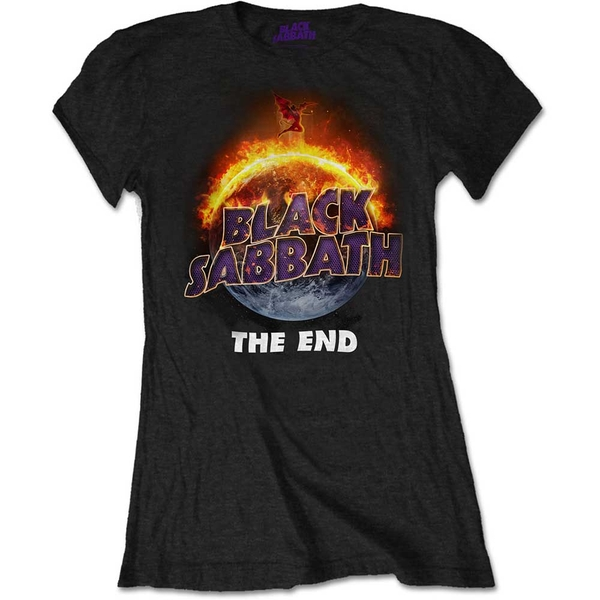 Black Sabbath - The End Women's X-Large T-Shirt - Black