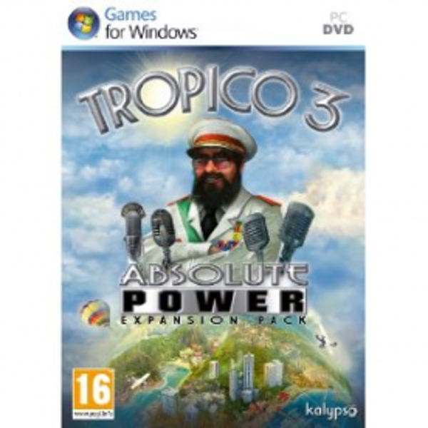 Tropico III 3 Absolute Power Expansion Pack Game PC