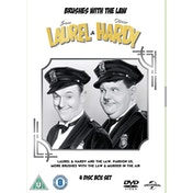 Laurel & Hardy: Brushes with the Law DVD