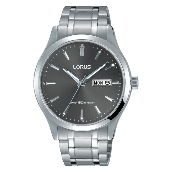 Lorus RXN35DX9 Mens Classic Stainless Steel Bracelet Dress Watch