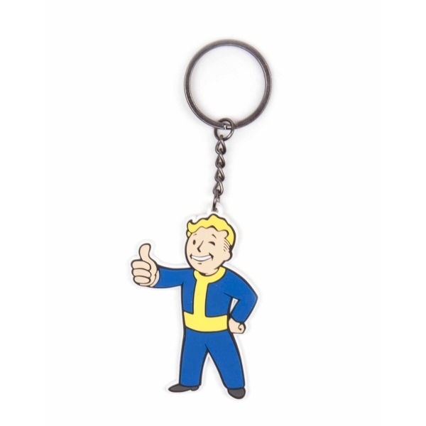 Fallout 4 Vault Boy Thumbs Up Key Ring