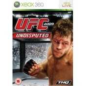 UFC 2009 Undisputed Game Xbox 360