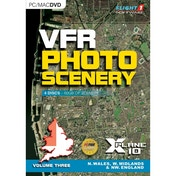 VFR Photographic Scenery For X-Plane 10 Vol 3 North Wales West Midlands & North West England PC