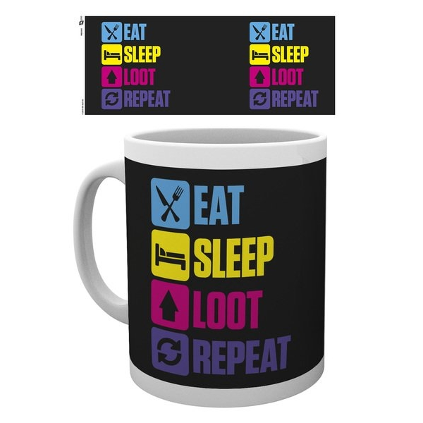 Battle Royale Eat Sleep Repeat Mug