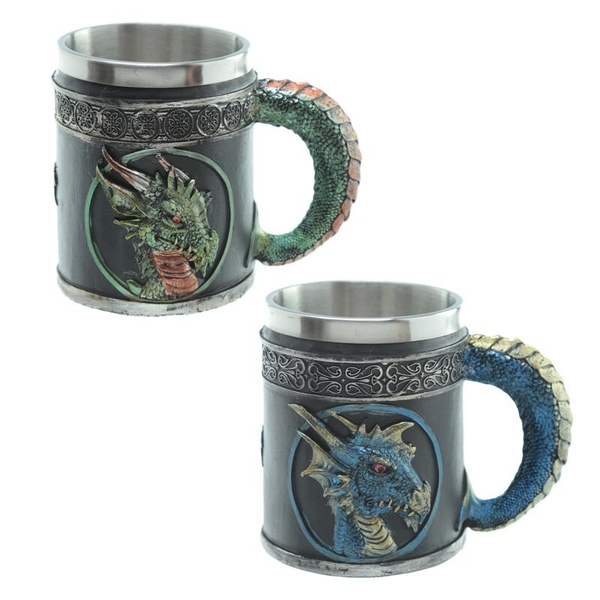 Decorative Dark Legends Dragon Tankard (1 Random Supplied)