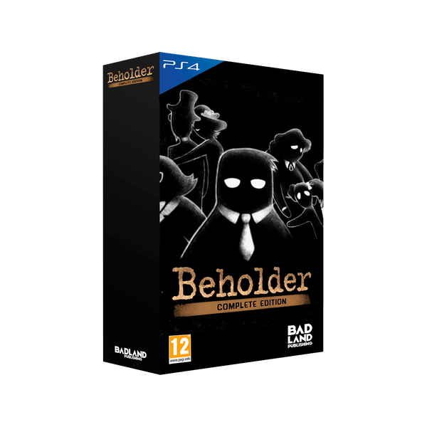 Beholder Complete Collectors Edition PS4 Game