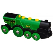 BRIO Rail Big Green Action Locomotive Train