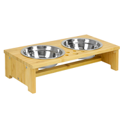 Raised Pet Bowls For Dogs & Cats | Small | M&W