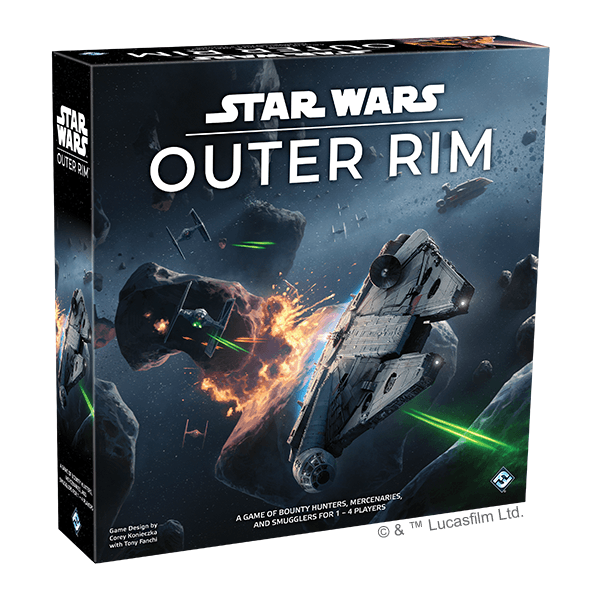 Star Wars: Outer Rim Board Game