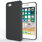 Apple iPhone 8 Ultra Thin Gel Case - Matte Black