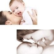 Mother and Baby Photo Makeover