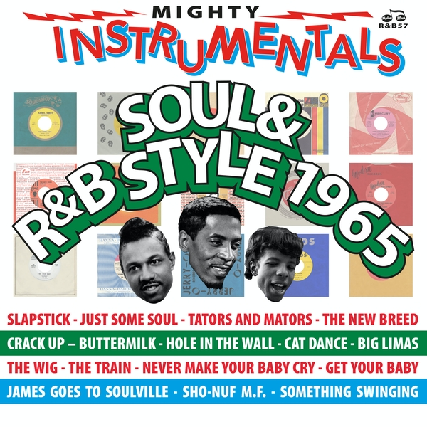 Various ‎– Mighty Instrumentals Soul & R&B-Style 1965 Vinyl