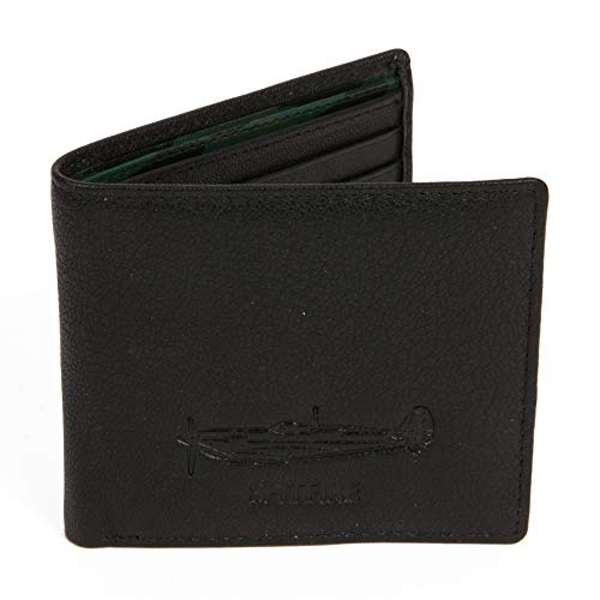 Military Heritage Leather Wallet - Spitfire