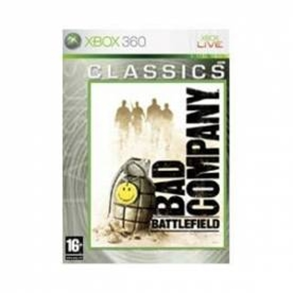 Pre-Owned Battlefield Bad Company Game (Classics) Xbox 360 Used - Good