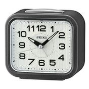 Seiko QHK050N Bell Alarm Clock with Snooze - Dark Metallic Grey