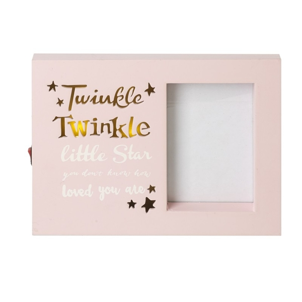 Twinkle Twinkle LightUp Photo Frame By Heaven Sends