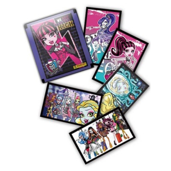 Monster High Sticker Collection (50 Packs)