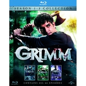 Grimm Season 1-3 Blu-ray