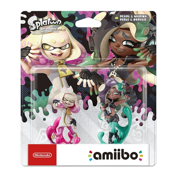 Pearl and Marina Off the Hook Set Amiibo (Splatoon Collection) for Nintendo Switch