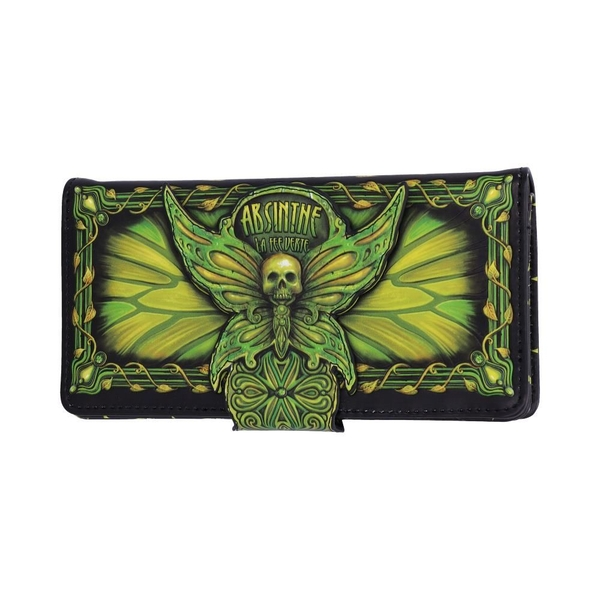 Absinthe  La Fee Verte Embossed Purse