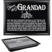 Ultimate Gift for Man Lap Trays Grandad