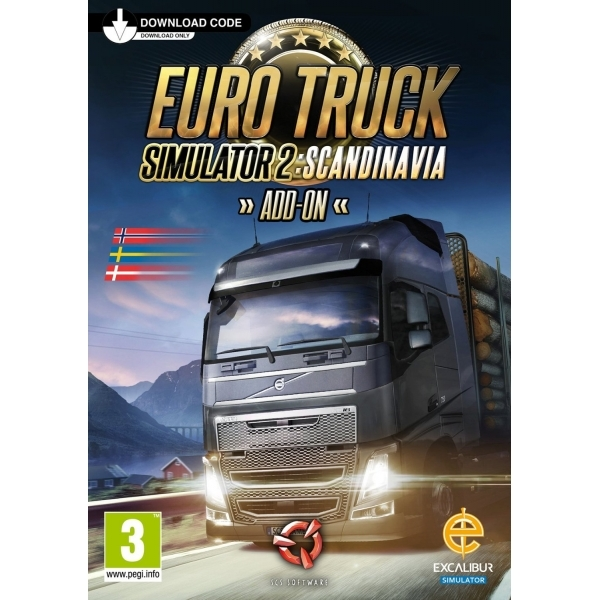 Euro Truck Simulator 2 Scandinavia Add On PC Game