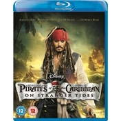 Pirates Of The Caribbean On Stranger Tides Blu-ray
