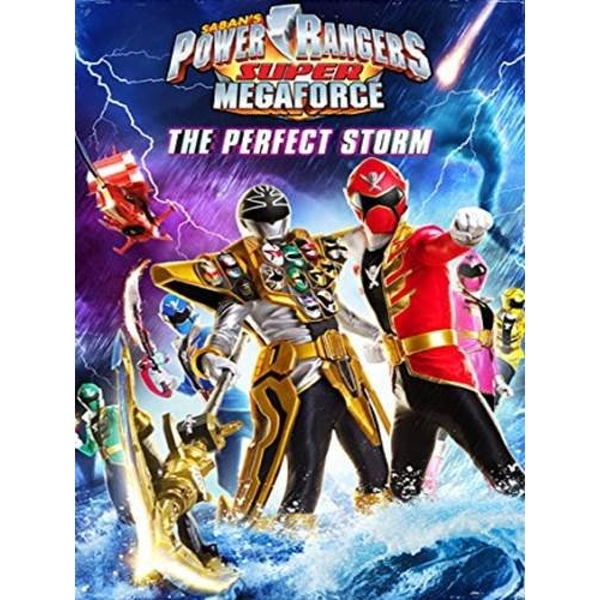 Power Rangers Super Megaforce Volume 2 The Perfect Storm DVD