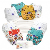 Bambino Mio Miosoft Reusable Nappy Birth to Potty Pack 2 Pieces, Unisex