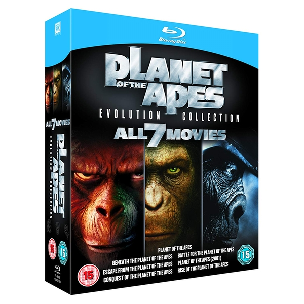 Planet of the Apes Evolution Collection Blu-ray - Image 2