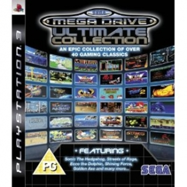 Ex-Display SEGA Mega Drive Ultimate Collection Game PS3 Used - Like New