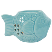 Turquoise Fish Oil Burner