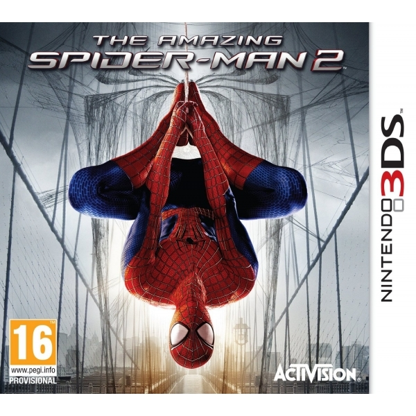 The Amazing Spider-Man 2 3DS Game