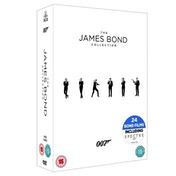 The James Bond Collection 1-24 DVD [Used - Like New]