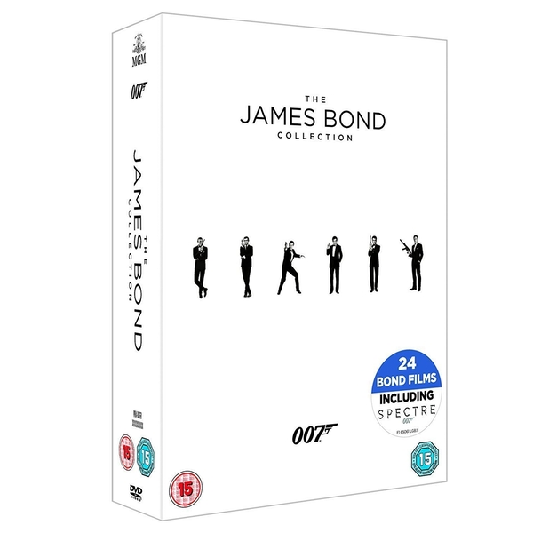 The James Bond Collection 1-24 DVD